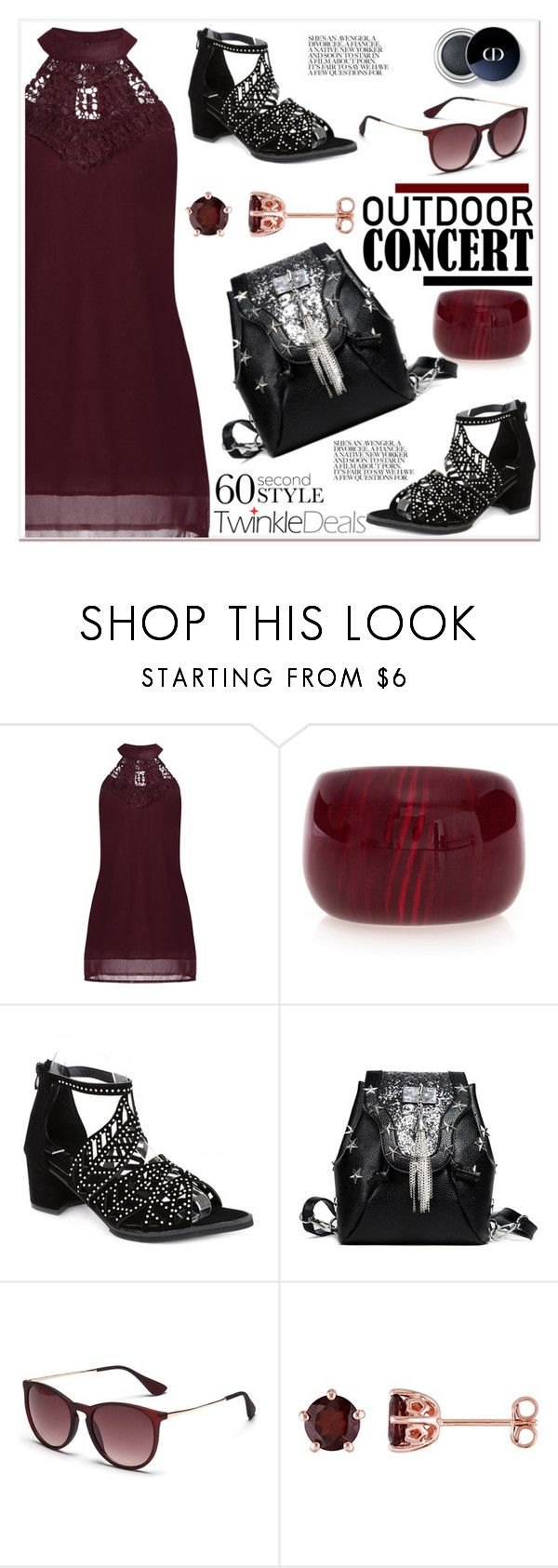 """""""60-Second Style: Outdoor Concerts 3"""" by spenderellastyle ❤ liked on Polyvore featuring Laura Ashley, vintage, polyvoreeditorial, 60secondstyle, twinkledeals and outdoorconcerts"""