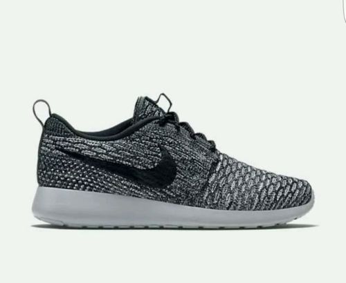 ac41a5ded838d NEW Nike Roshe One Flyknit Cool Grey Black Grey-Oreo 704927-007 Women s SZ  9 Clothing