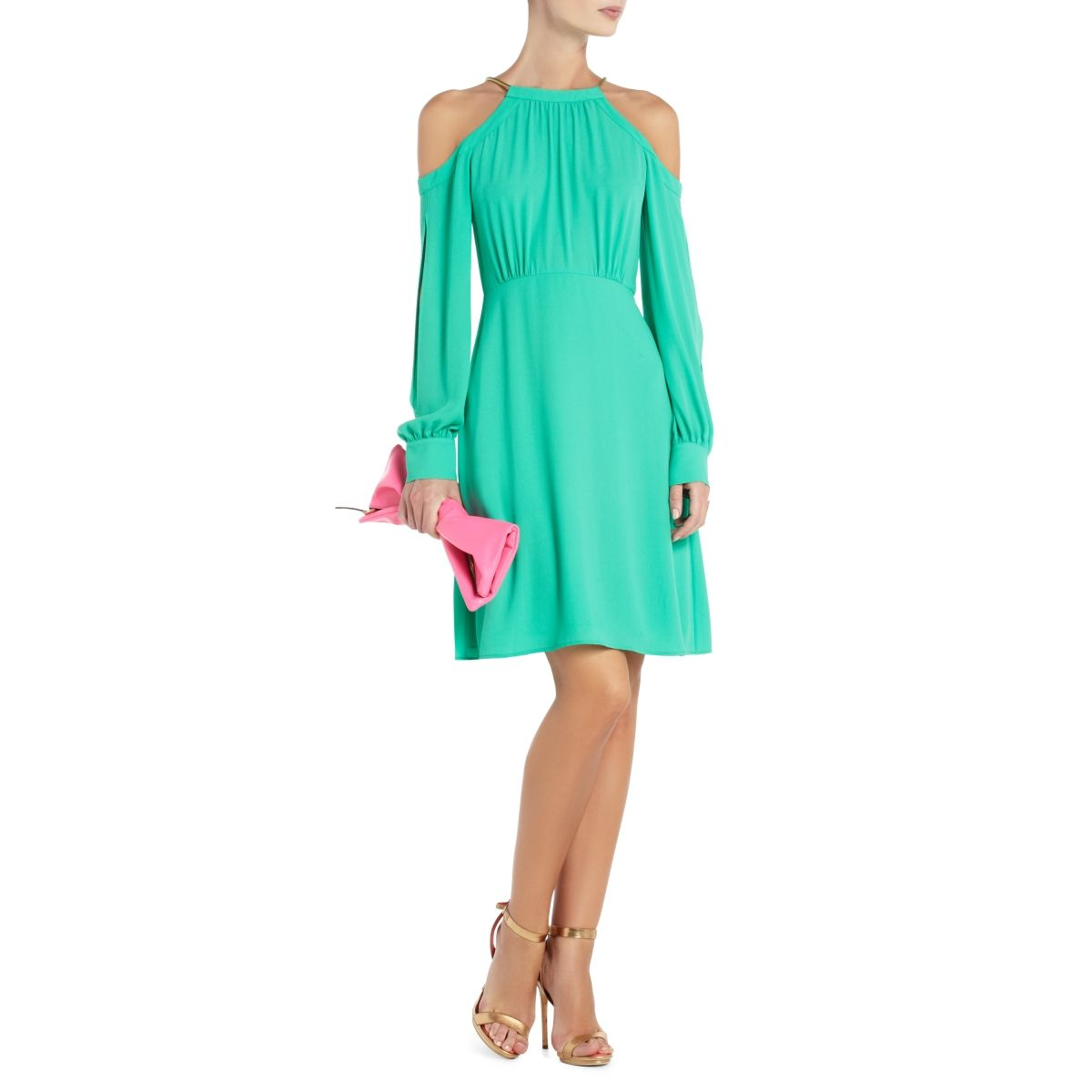 a848463ad0 BCBGMAXAZRIA - SHOP BY CATEGORY  DRESSES  VIEW ALL  LILLIE OPEN-SHOULDER  COCKTAIL DRESS