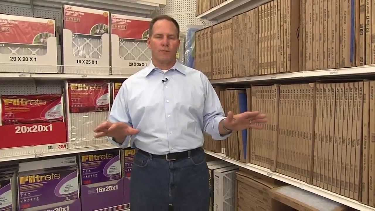 How To House Smarts Furnace Filters Ace Hardware