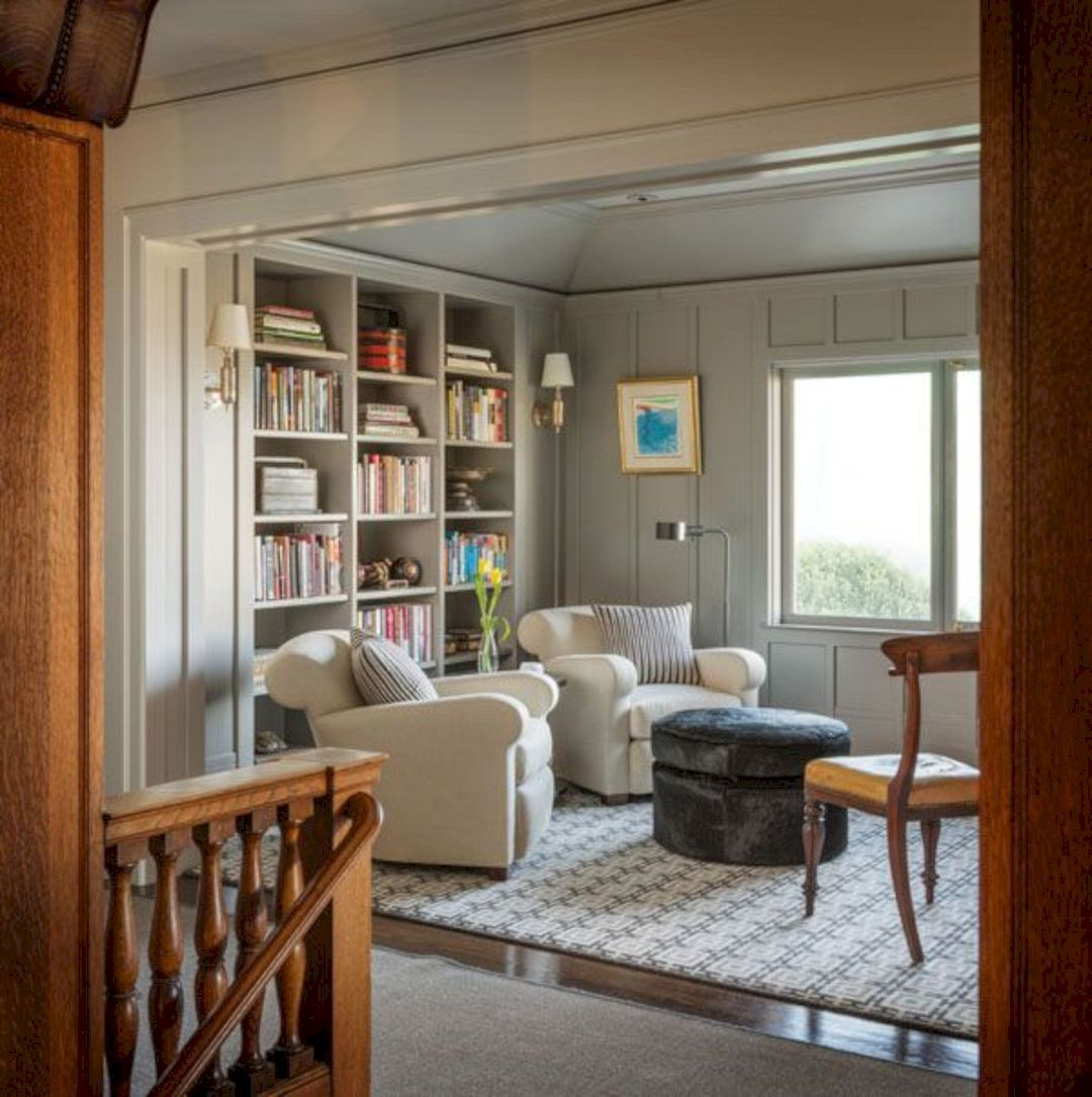 100 best home library decor ideas lovely interior designs home rh pinterest com home office library decorating ideas traditional home library decorating ideas