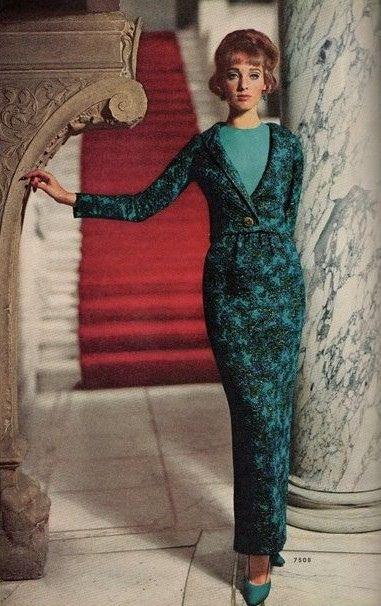 1964/65    Model Antonia in McCalls Patterns Fashion Magazine. Fall/Winter 1964/1965.