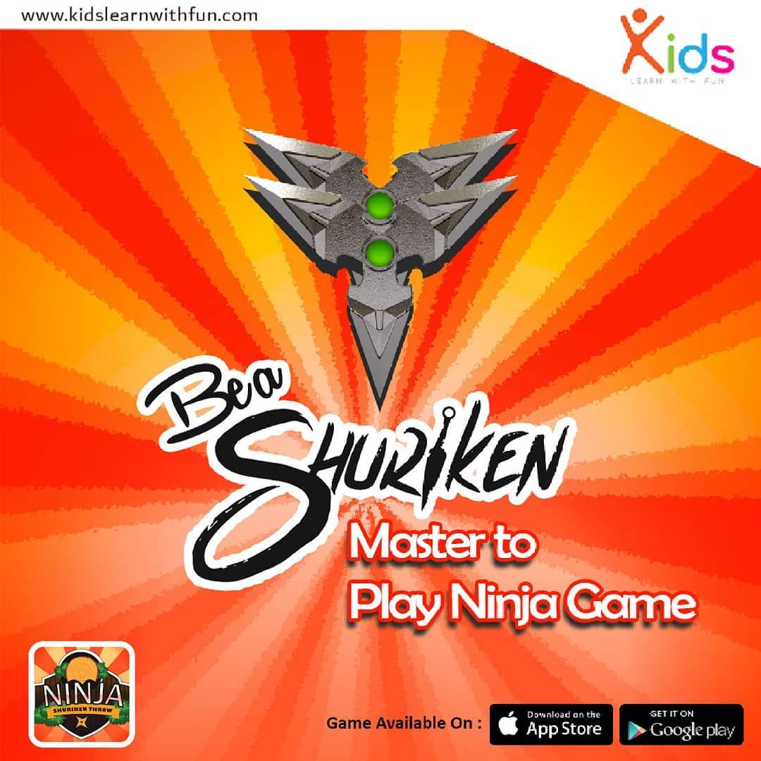 Be a Ninja Smart Player with Ninja Shuriken Game https