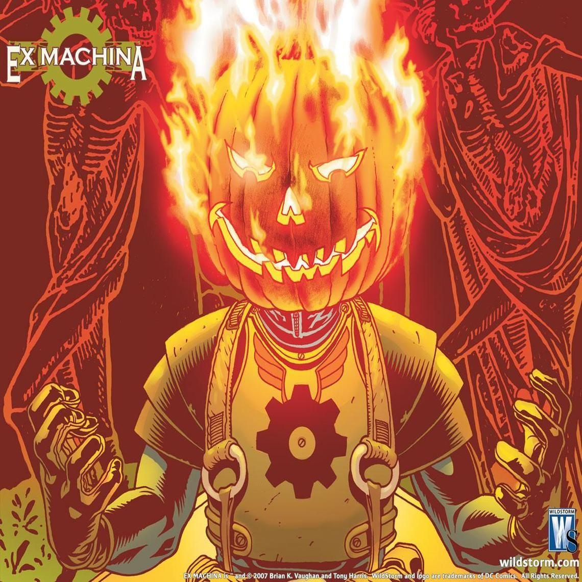 Ex Machina Halloween Special