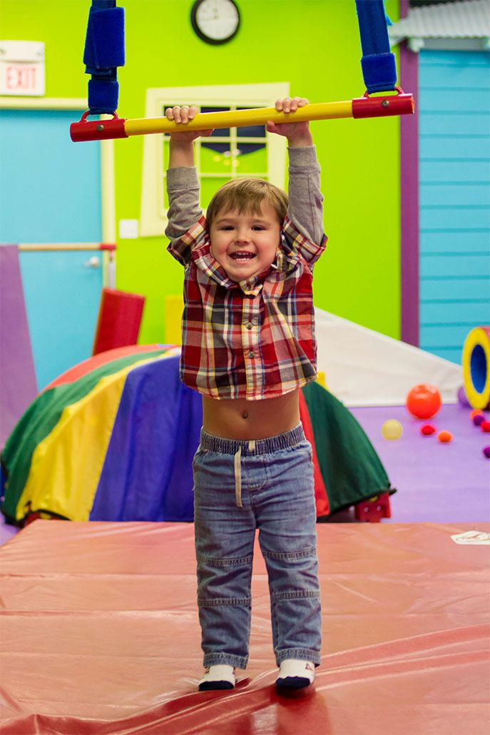 Open Gym At Romp N Roll Is The Ultimate Indoor Playground