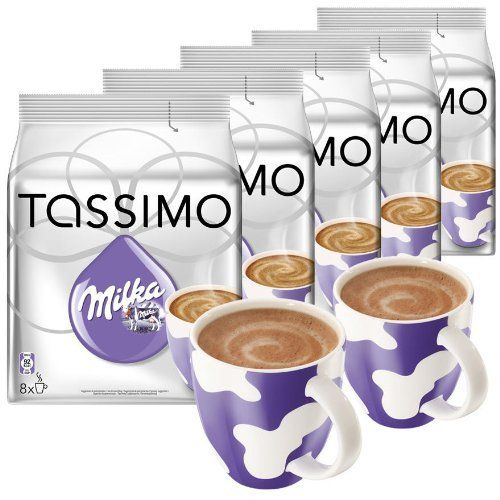 Tassimo T Discs Milka Hot Chocolate Oh So Tassimo