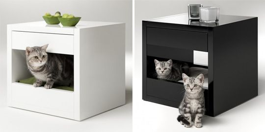 Whoa Expensive Cat Cubby! But Pretty Sure I Could Hack This Together From  Some Ikea