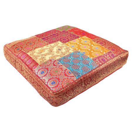 Sari Square Pillow // very bohemian
