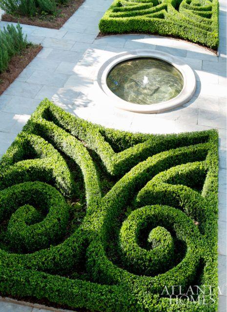 Art Deco Revival Ah L Landscape Architecture Design Landscape Design Parterre Garden