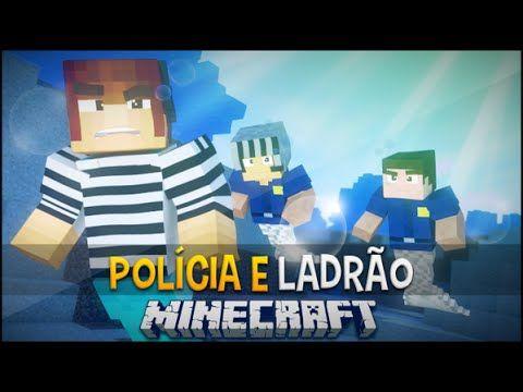 Policia e Ladrão - Presos Sereias !! - Minecraft