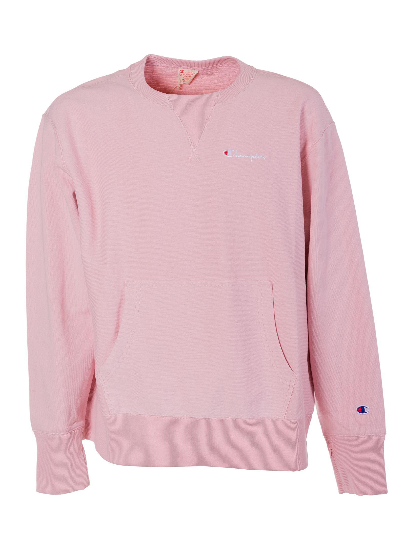 Champion Crewneck Champion Cloth Champion Crewneck Champion Clothing Pink Crewneck Sweatshirt [ 2136 x 1600 Pixel ]