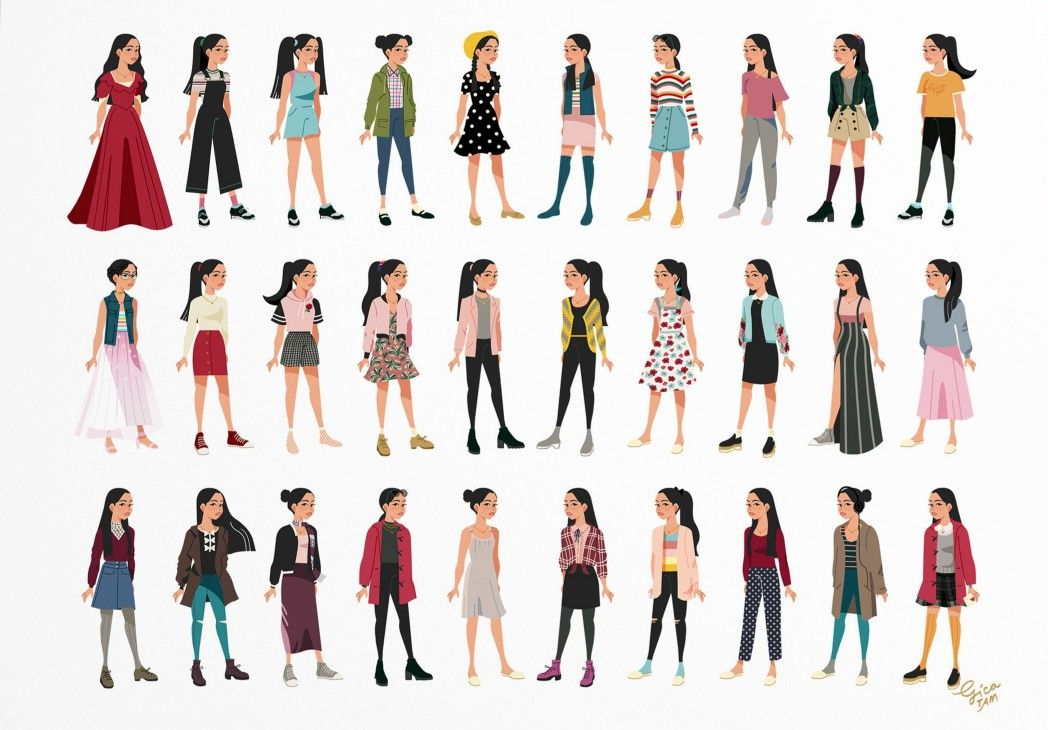 To All The Outfits Lara Jean Has Worn Before I ♡ Books