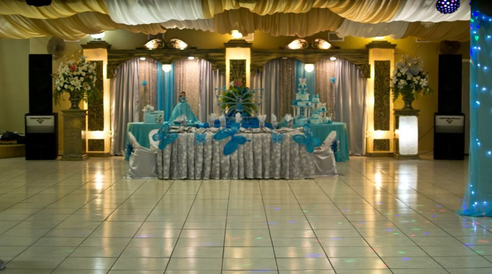 Photos of texas quinceanera decorations hall for Latest wedding hall decoration