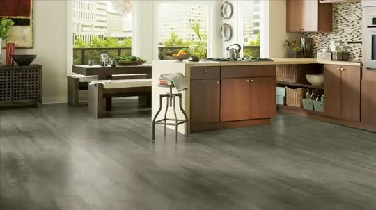 Light Grey Laminate Flooring In Kitchen Google Search Flooring