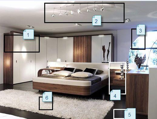 Beautiful Chambre A Coucher Style Contemporain Ideas - ansomone.us ...