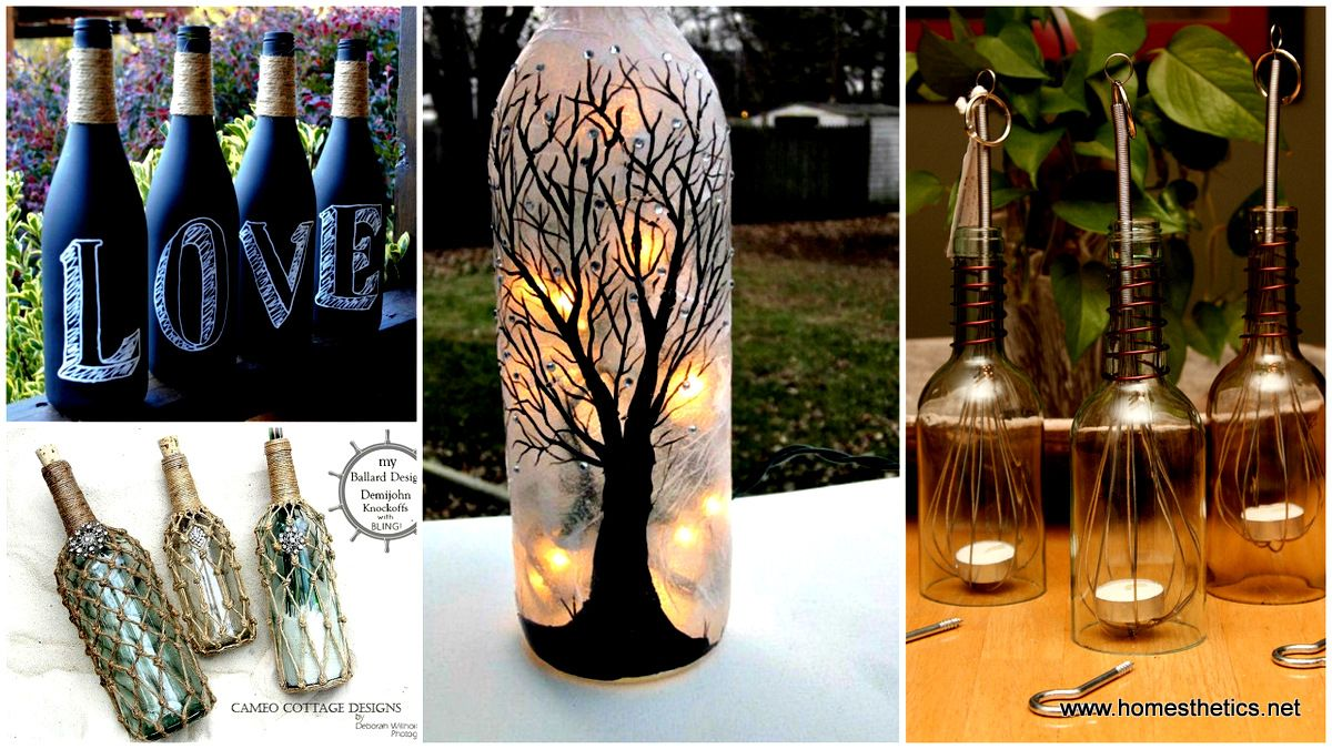 While searching for halloween ideas i found these really for Cute wine bottles