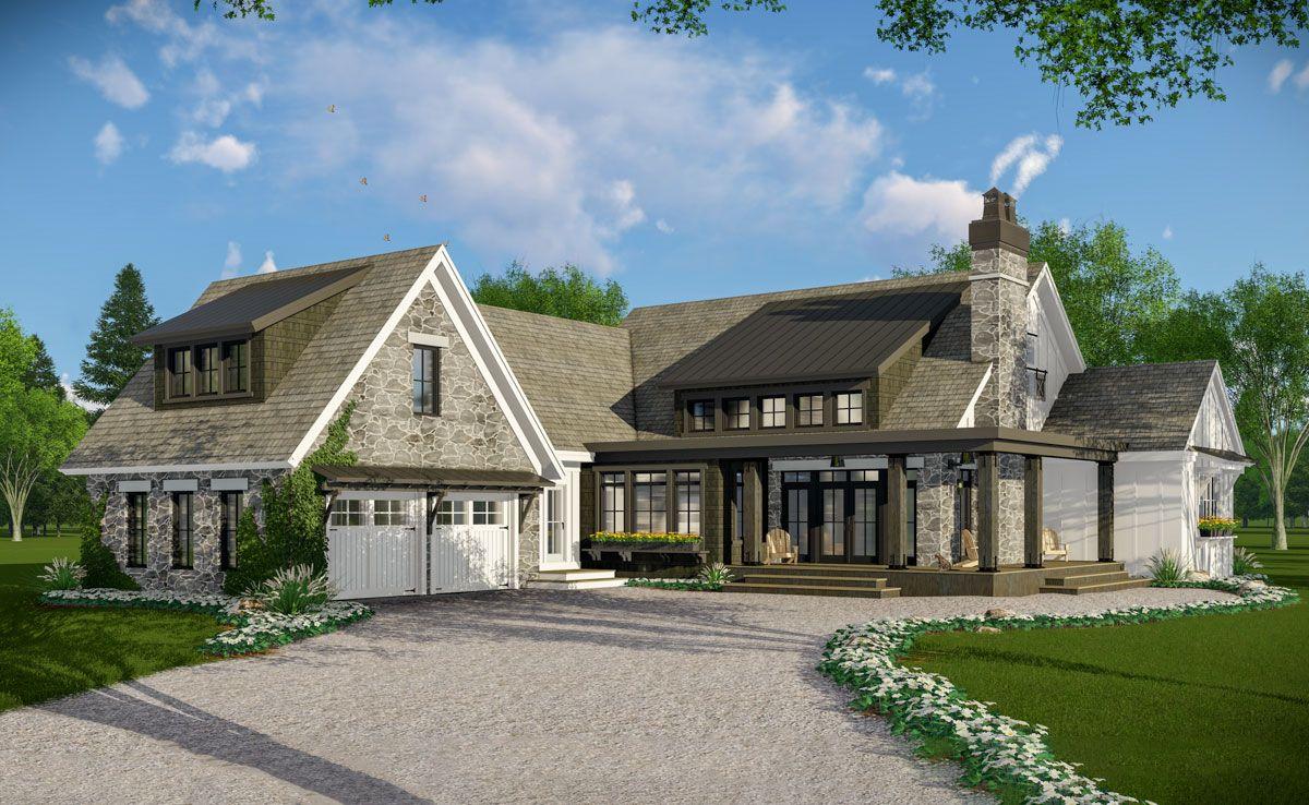 15++ Rustic farmhouse house plans type