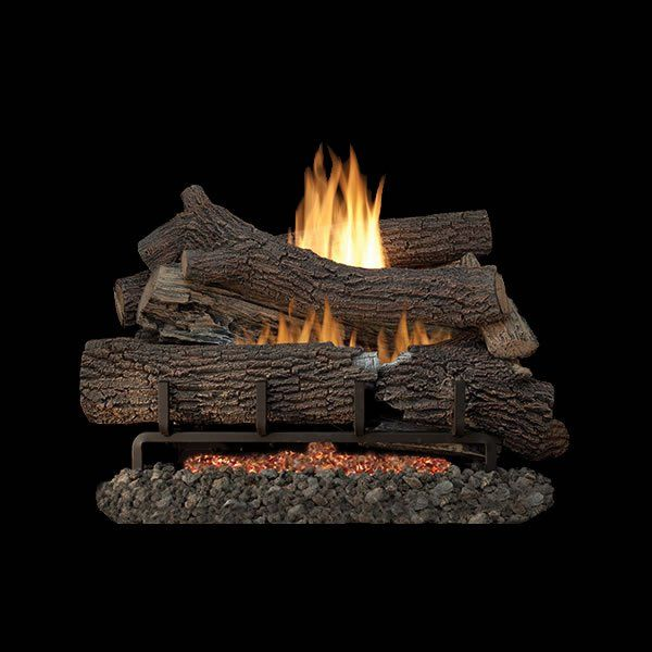 Superior Giant Timbers 24 Outdoor Ventless Gas Log Set Natural Gas Millivolt Remote Ready Control Ventless Gas Logs Gas Fireplace Logs Gas Logs