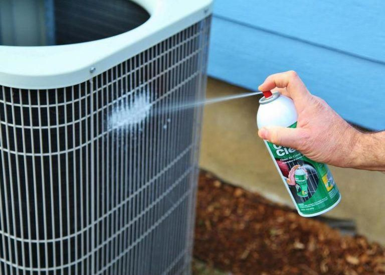 10 Tips For Cleaning Ac Spray Fin Coil Air Conditioner Maintenance Diy Air Conditioner Air Conditioning Maintenance