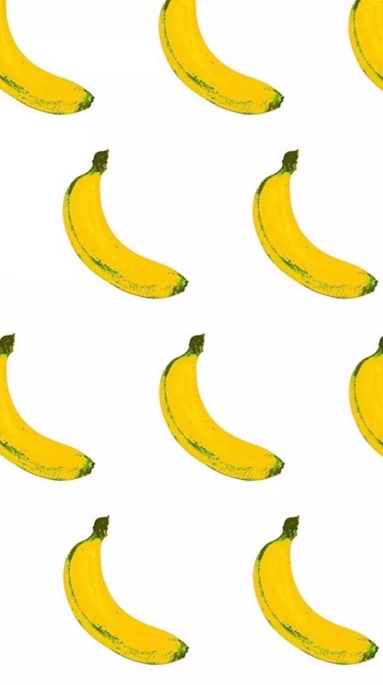 Banana Iphone Wallpaper Super Cute Chuối Họa Tiết