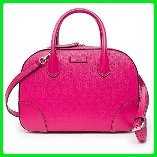 b426c636a94 Gucci Diamante Small Satchel Blossom Hot Pink Leather Bag New - Top handle  bags (*Amazon Partner-Link)