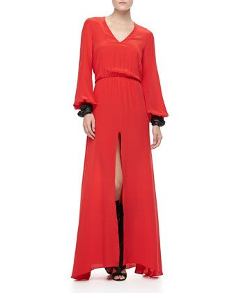 Philo+Slit-Front+Dress+by+Alexis+at+Neiman+Marcus.
