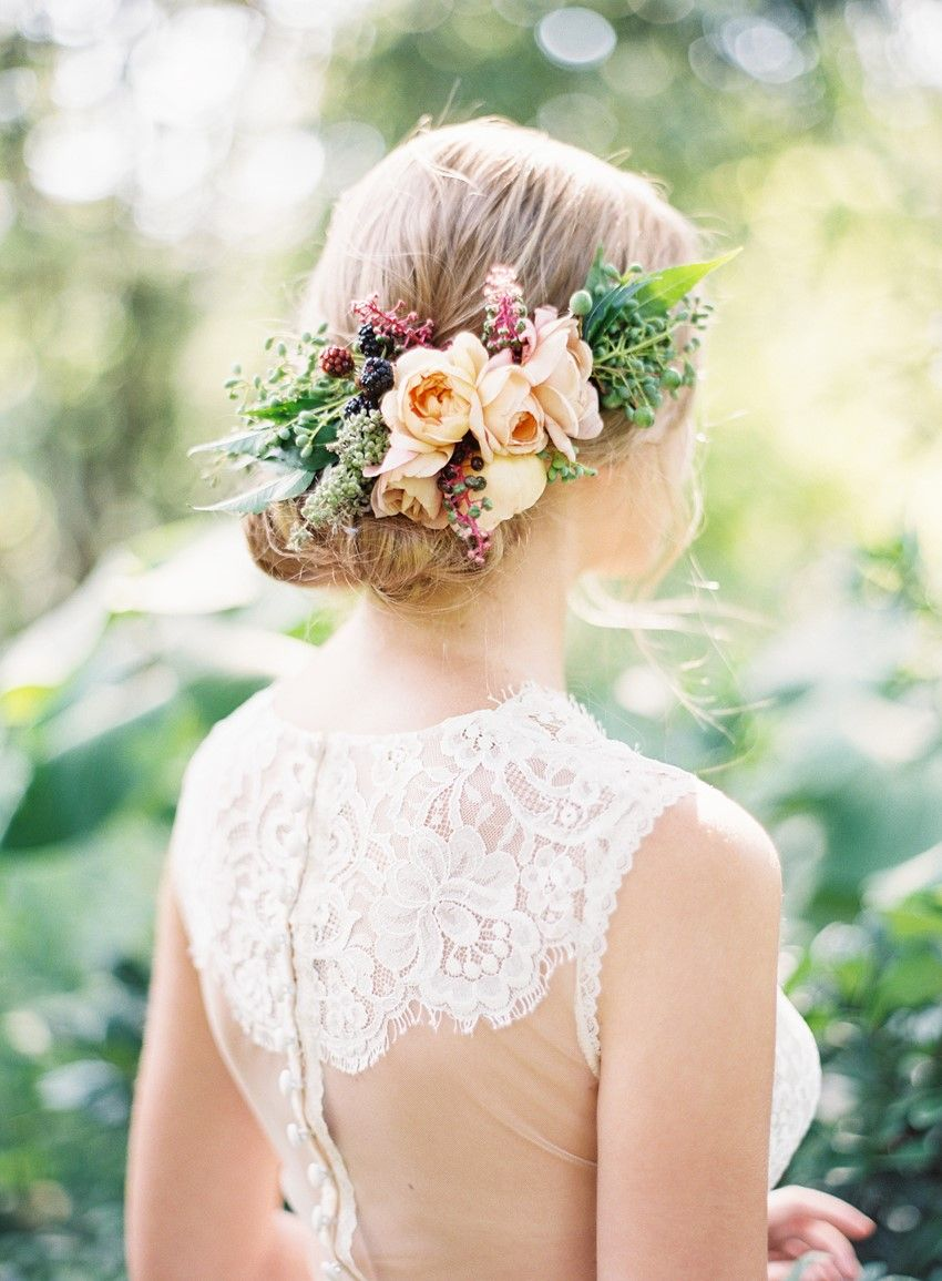 Floral Filled Terracotta Garden Wedding Inspiration - Chic Vintage Brides