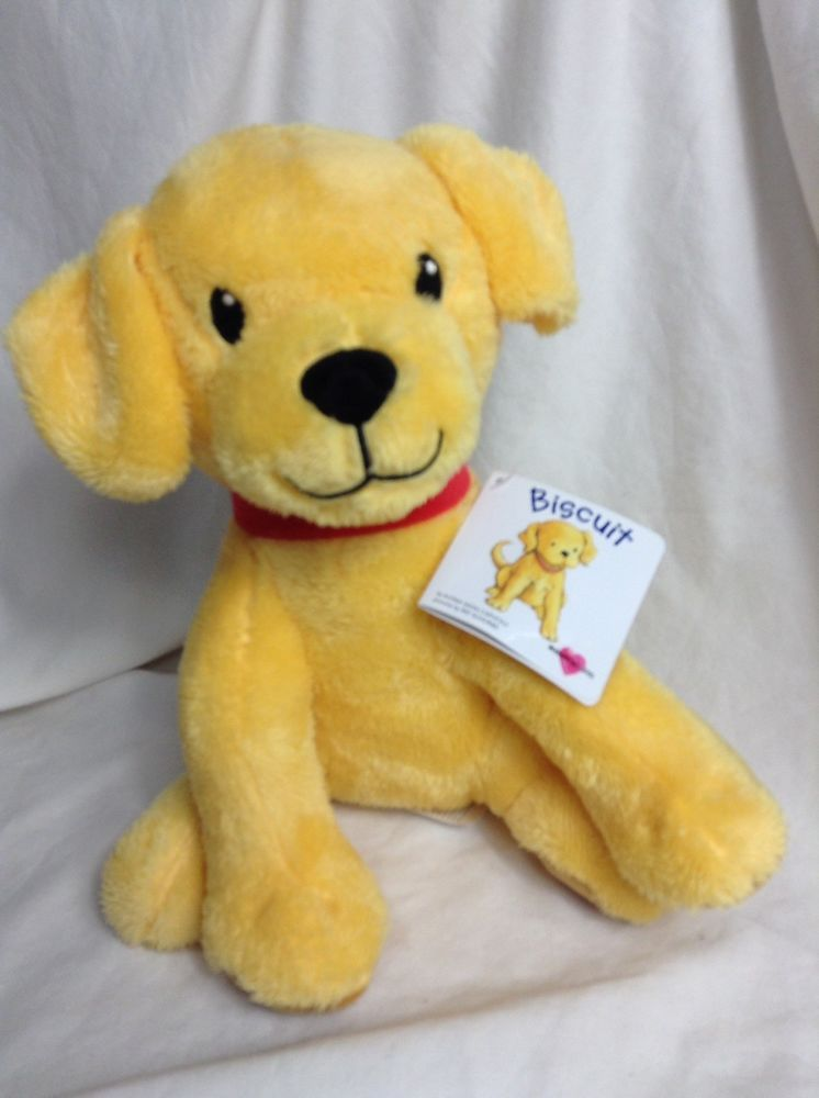 Kohl S Cares Biscuit Plush Yellow Puppy Dog Stuffed Animal Toy
