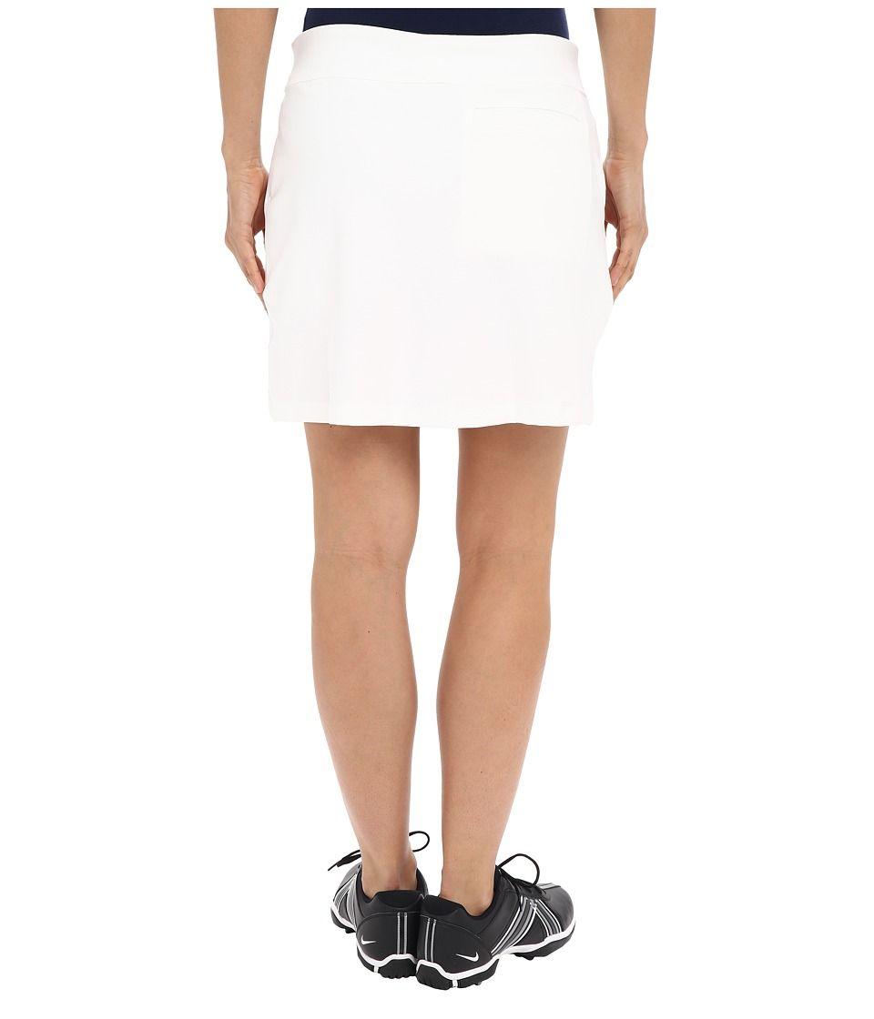 1eae8a9a Nike Golf Tournament Knit Skort Women's Skort White/Black | Products ...