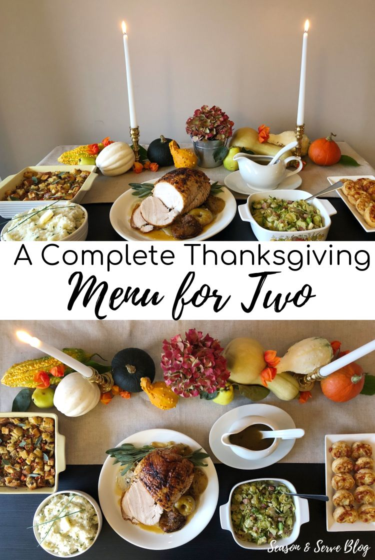 Give Thanks Thanksgiving Tablescape Menu In 2020 Thanksgiving Menu Easy Thanksgiving Dinner Thanksgiving Dinner For Two