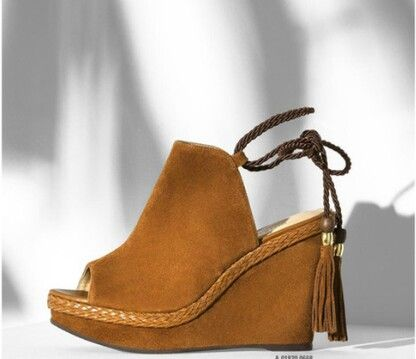 Lindíssima sandália Arezzo