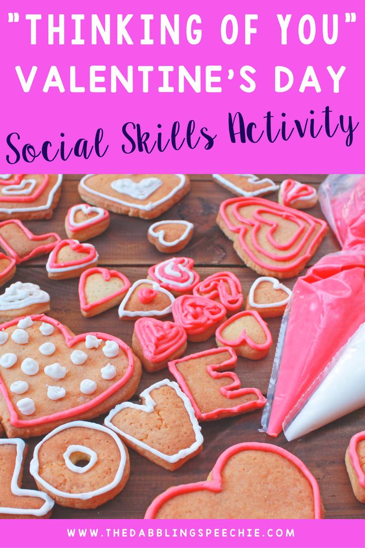 Thinking Of You Valentine S Day Social Skills Activity