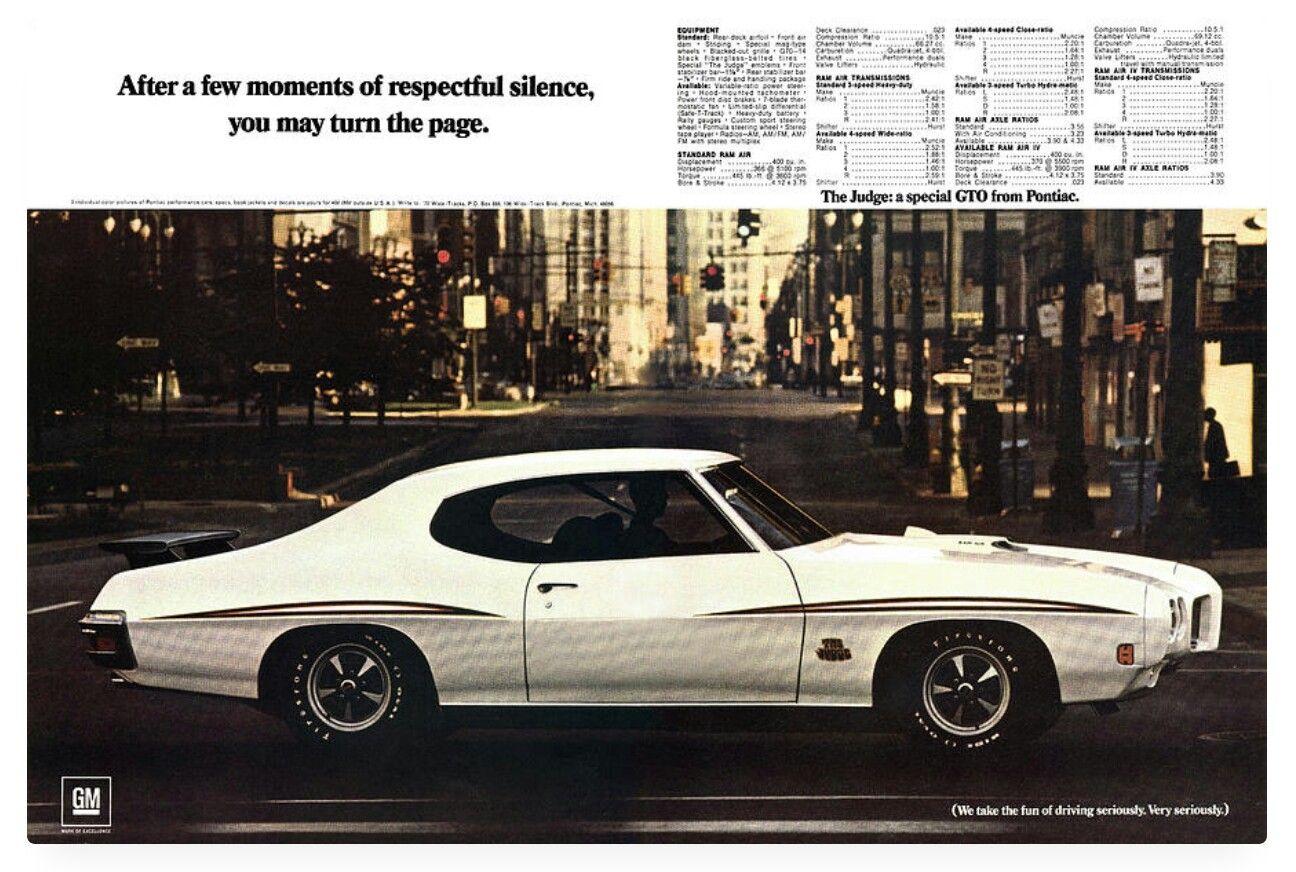 70 Pontiac Gto Judge Pontiac Gto Gto Pontiac