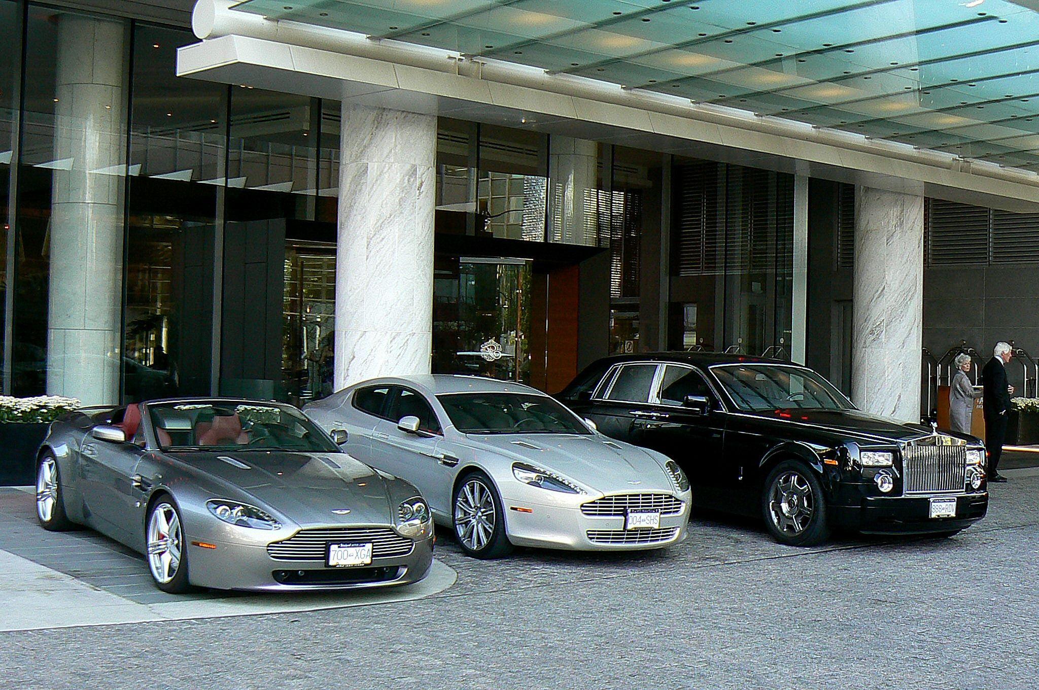 Aston Martin Vantage Aston Martin Rapide Rolls Royce Phantom