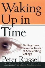 Waking Up In Time: Finding Inner Peace In Times of Accelerating Change by Peter Russell -Paperback Free Shipping $8.99