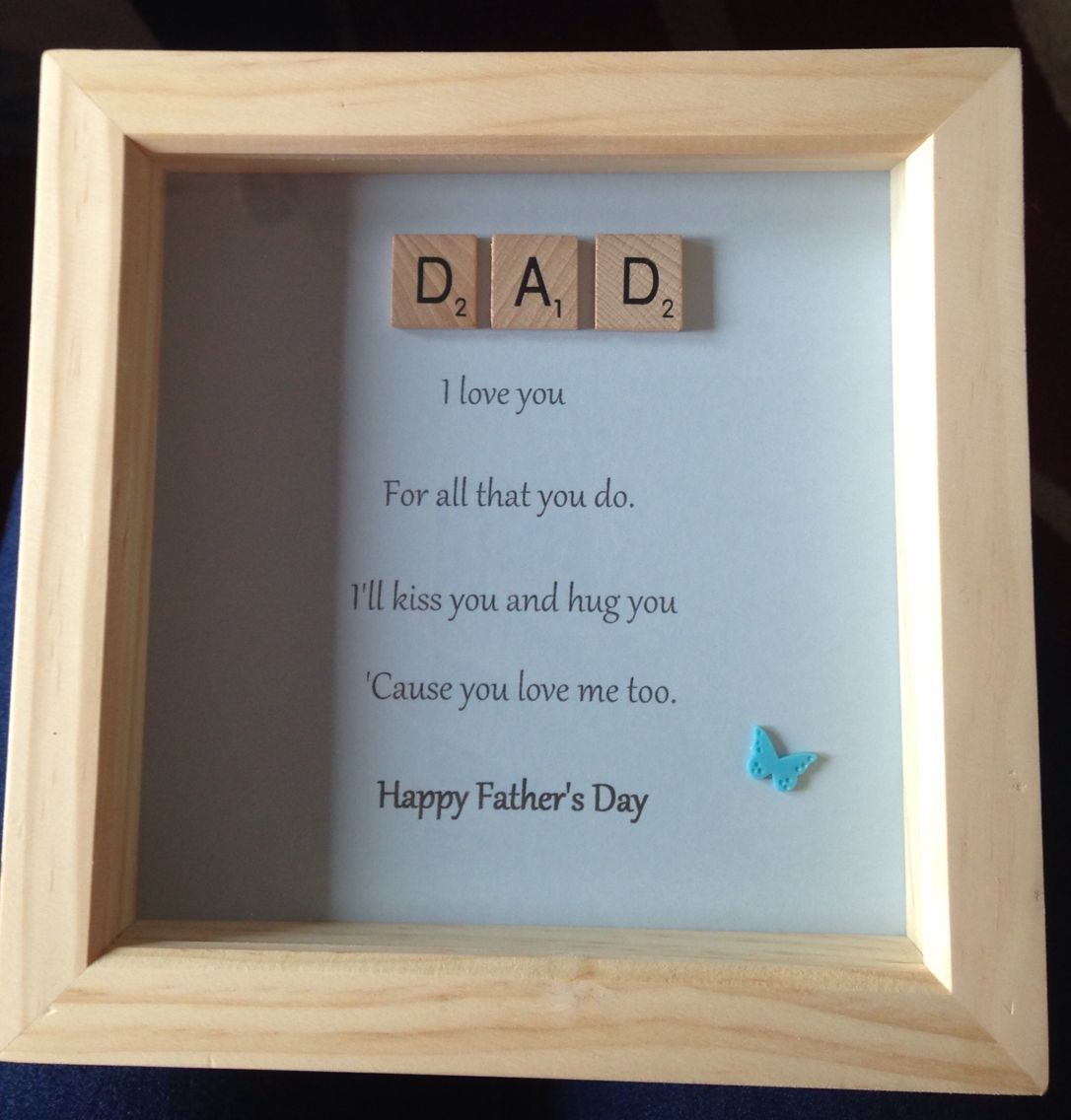 As a Dad you Nailed it Frame Ideal gift for Father\'s Day | Fathers ...