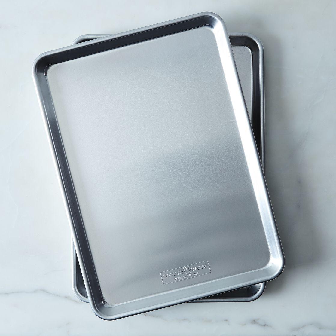 Nordic Ware Natural Aluminum Baking Sheets Nordic Ware Baking
