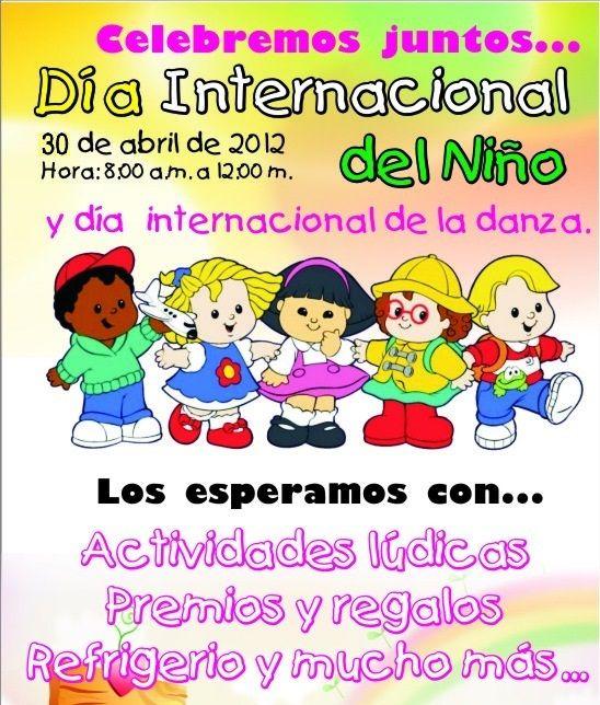 Dia Internacional Del Nino 30 De Abril Con Imagenes Dia