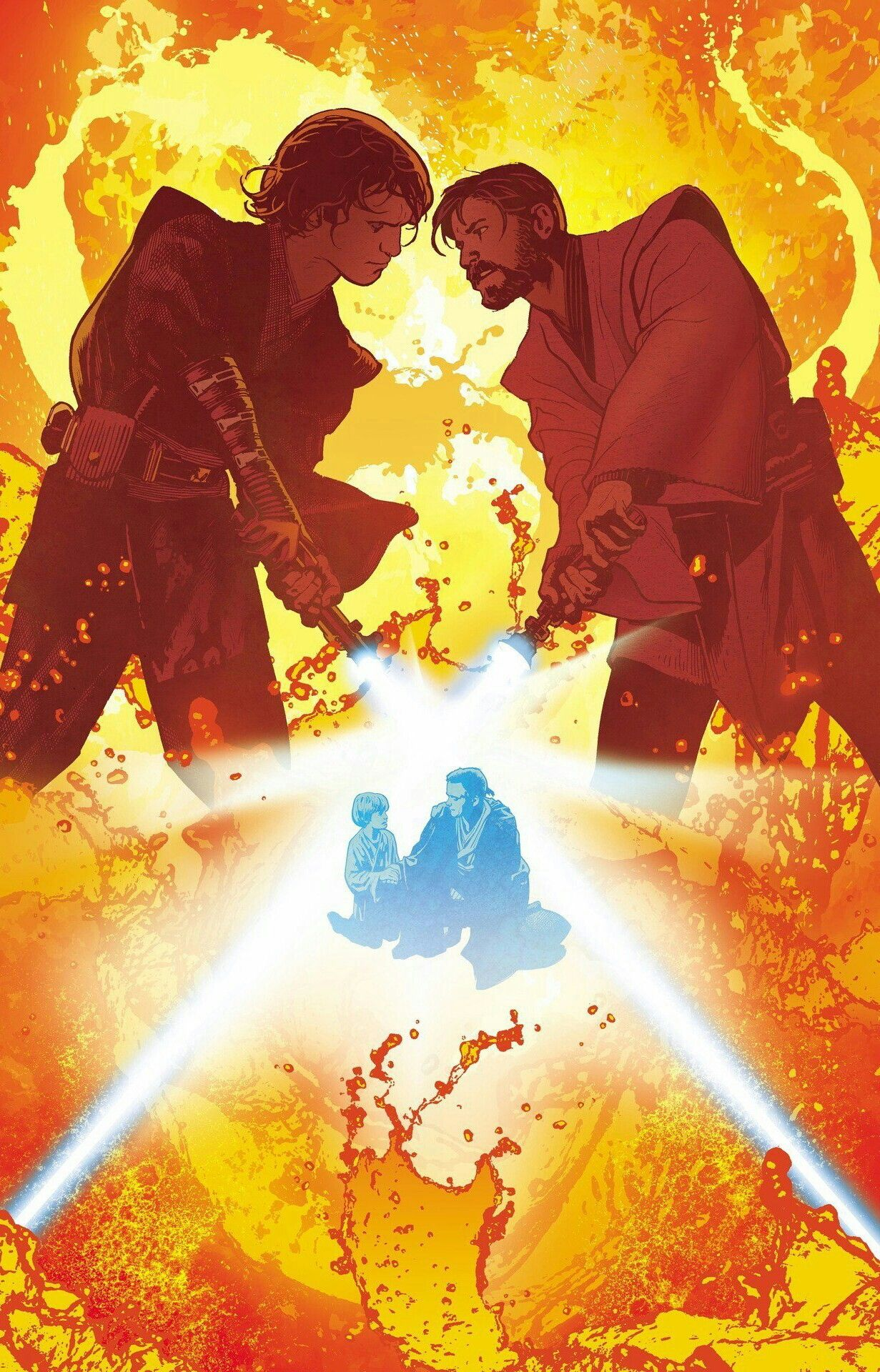 Anakin Skywalker Versus Obi Wan Kenobi Star Wars Pictures Star Wars Anakin Star Wars Images