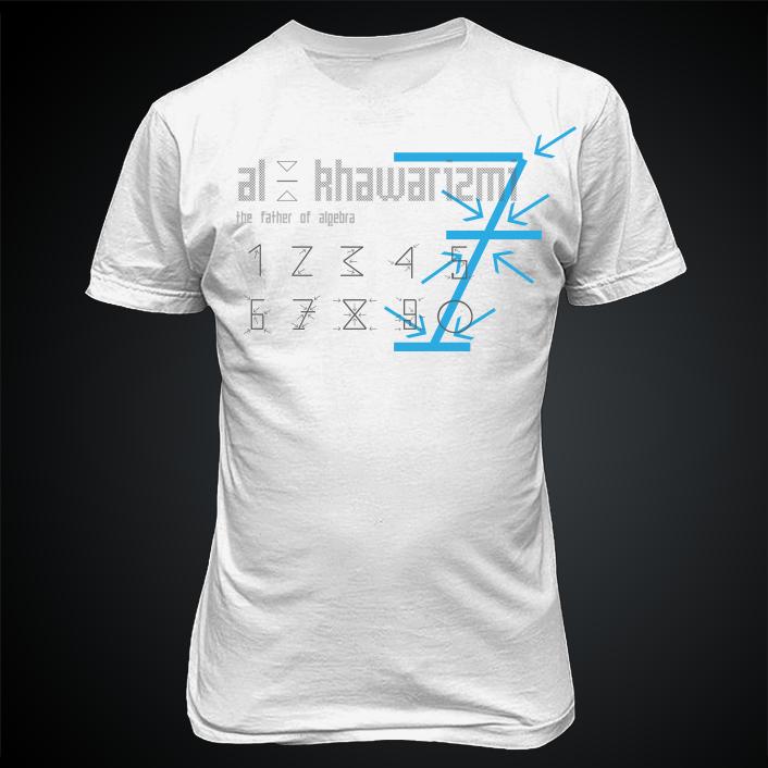 Al khwarizmis fantastic 7 t shirt designs inspired by the great al khwarizmis fantastic 7 t shirt designs inspired by the great muslim scientists publicscrutiny Images