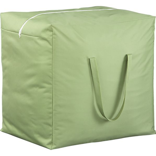 Outdoor Cushion Storage Bag (indoors). They Also Have Covers For  Everything. CB