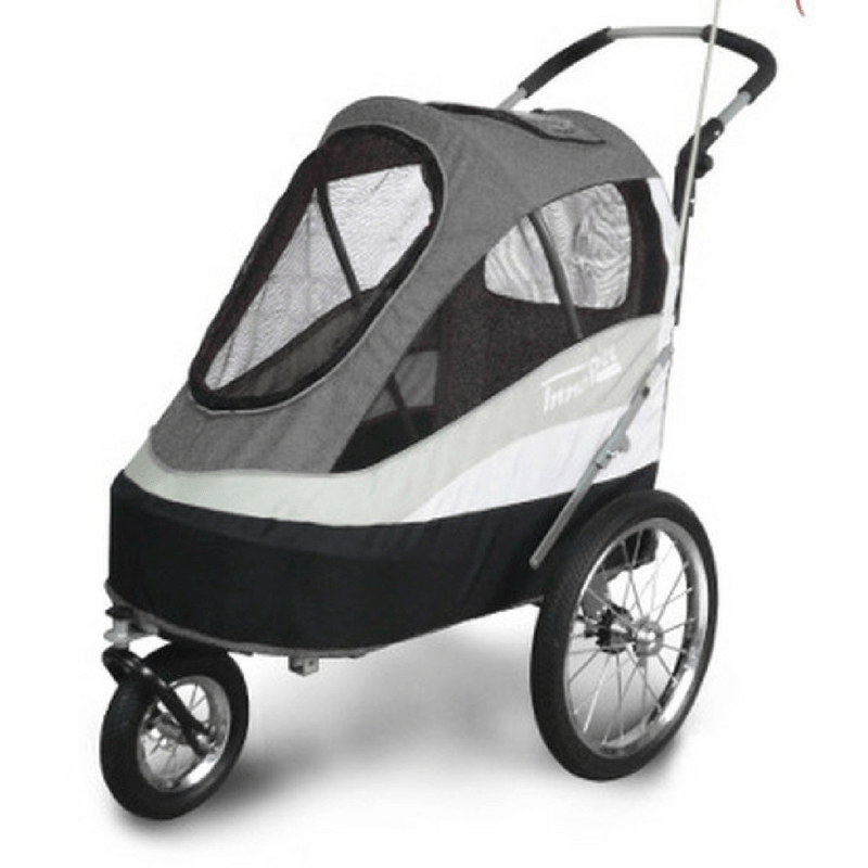Innopet Sporty Dog Stroller and Bike Trailer Black