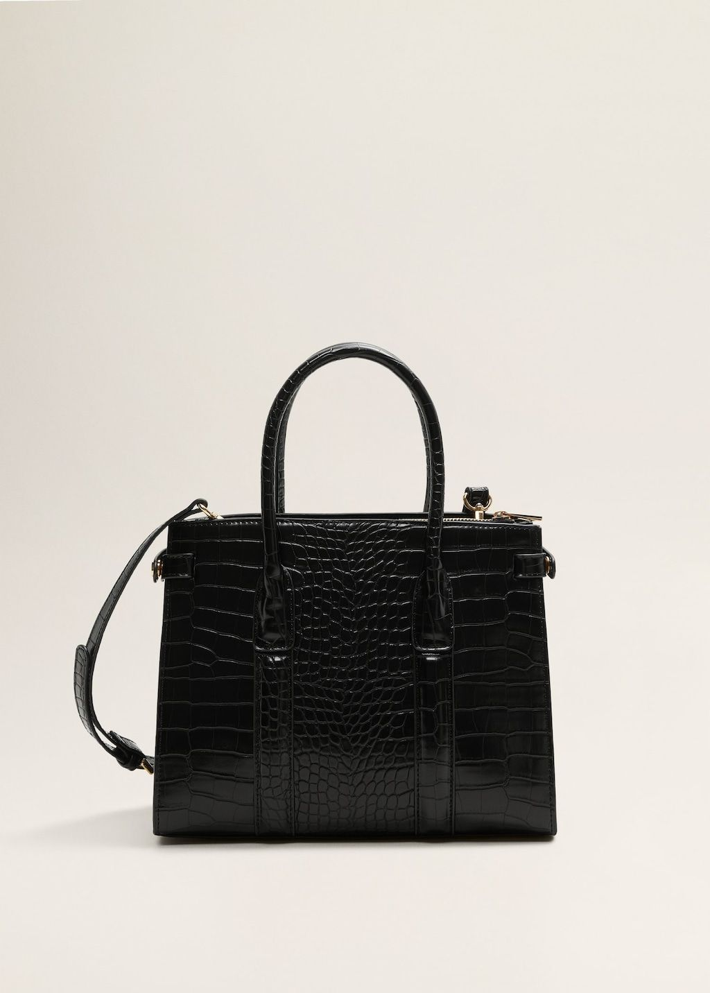 469d620578 Croc-effect tote bag - Women in 2019 | FW18/19 | Bags, Tote bag, Crocs