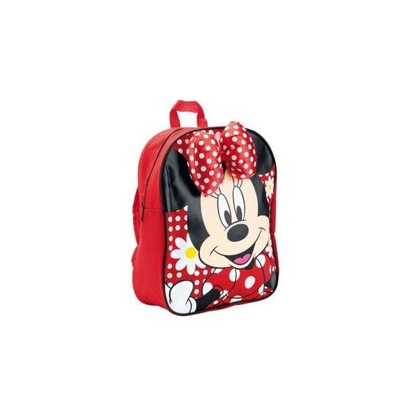 ef1e19d22de Buy Disney Minnie Mouse Girls  Pink Backpack with Bow at Argos.co.uk -...  ( 9.10) ❤ liked on Polyvore featuring baby girl
