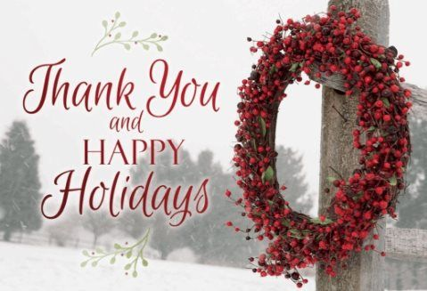 Happy Holidays Wreath Free Greeting Card Template 60 Off Ends 111