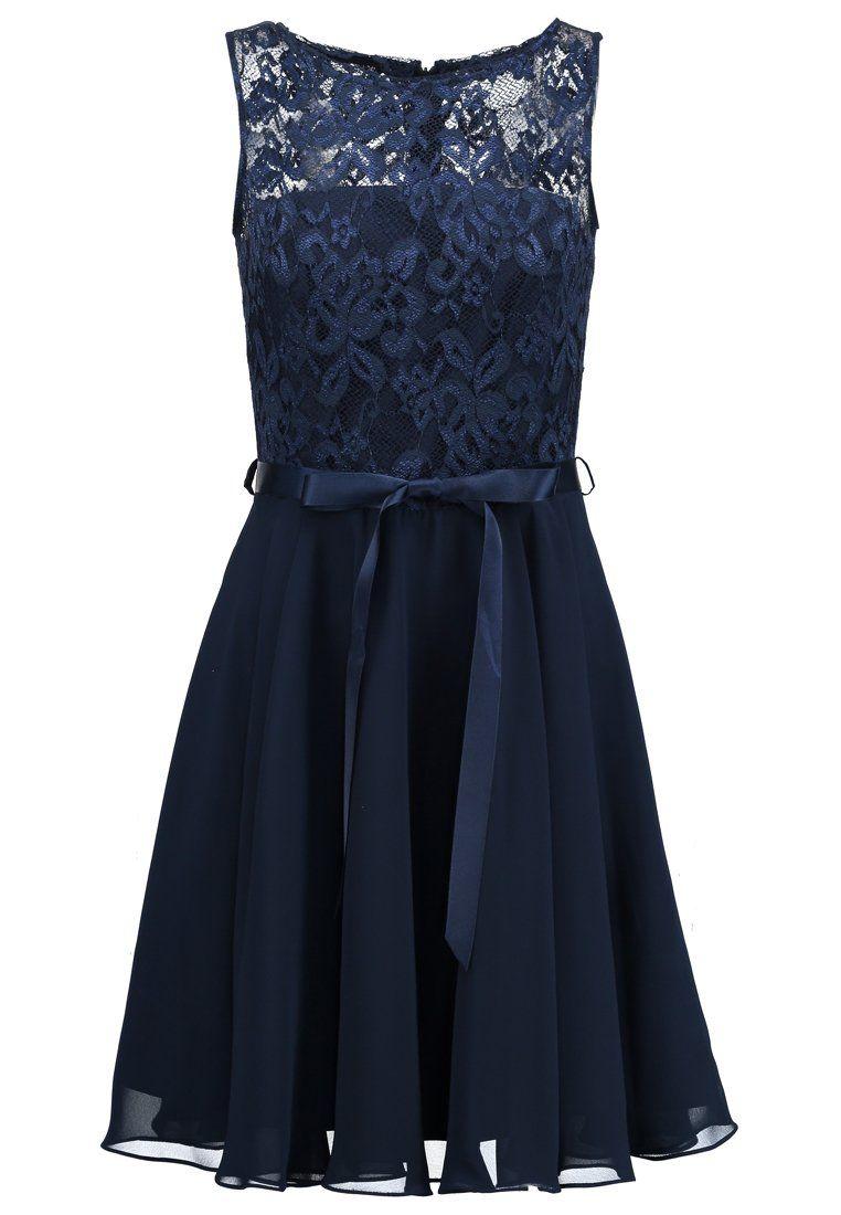 Cocktailkleid/festliches Kleid - dunkelblau | Clothes, Prom and Fashion