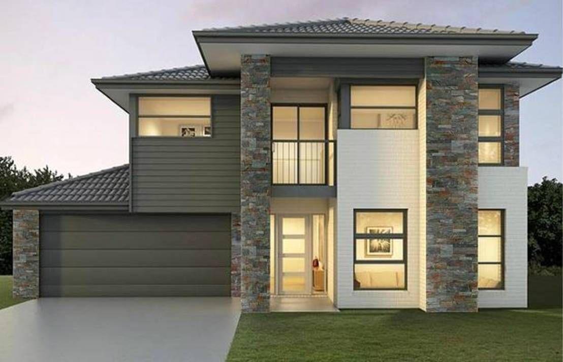 Peque a vivienda estilo tradicional exteriores r sticos e - Fachadas viviendas unifamiliares ...
