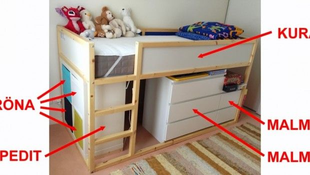 Ikea Furniture Assembly Making A Secret Play Room Kid