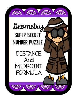 Worksheets Activity Worksheet Distance And Midpoint Exploration Answers distance and midpoint formula super secret number game game