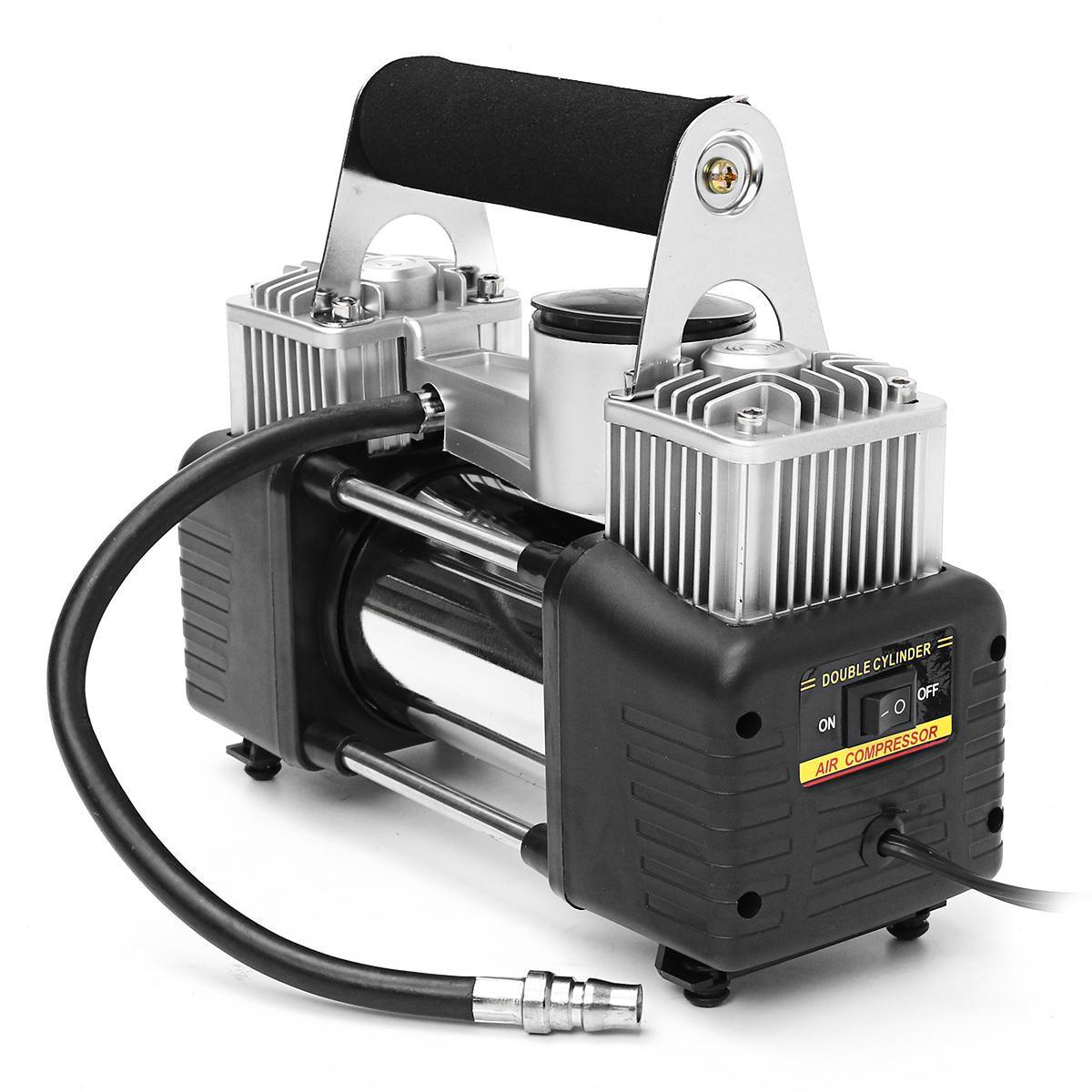 US59.99 150psi 70L/min 12V 280W Cylinder Air Compressor